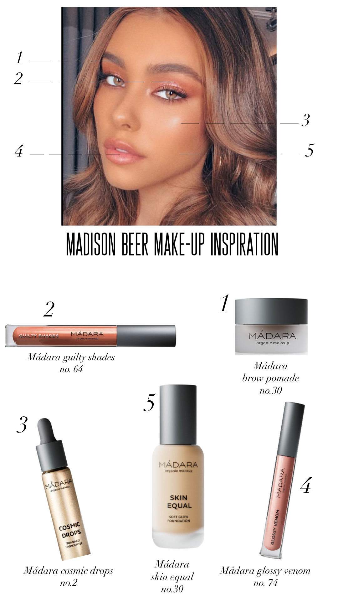 Get the look of Madison Beer